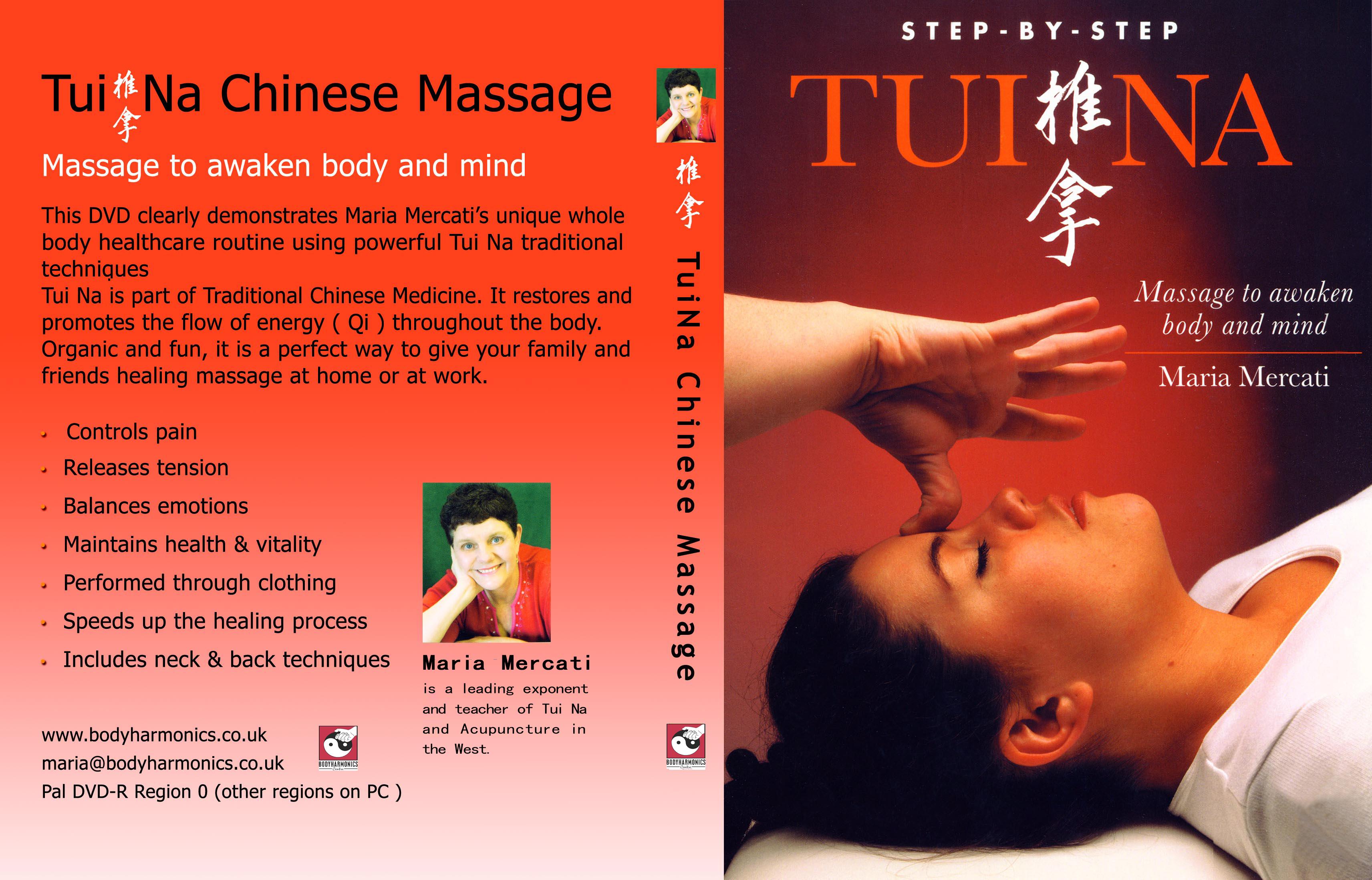 Tui Na DVD by Maria Mercati