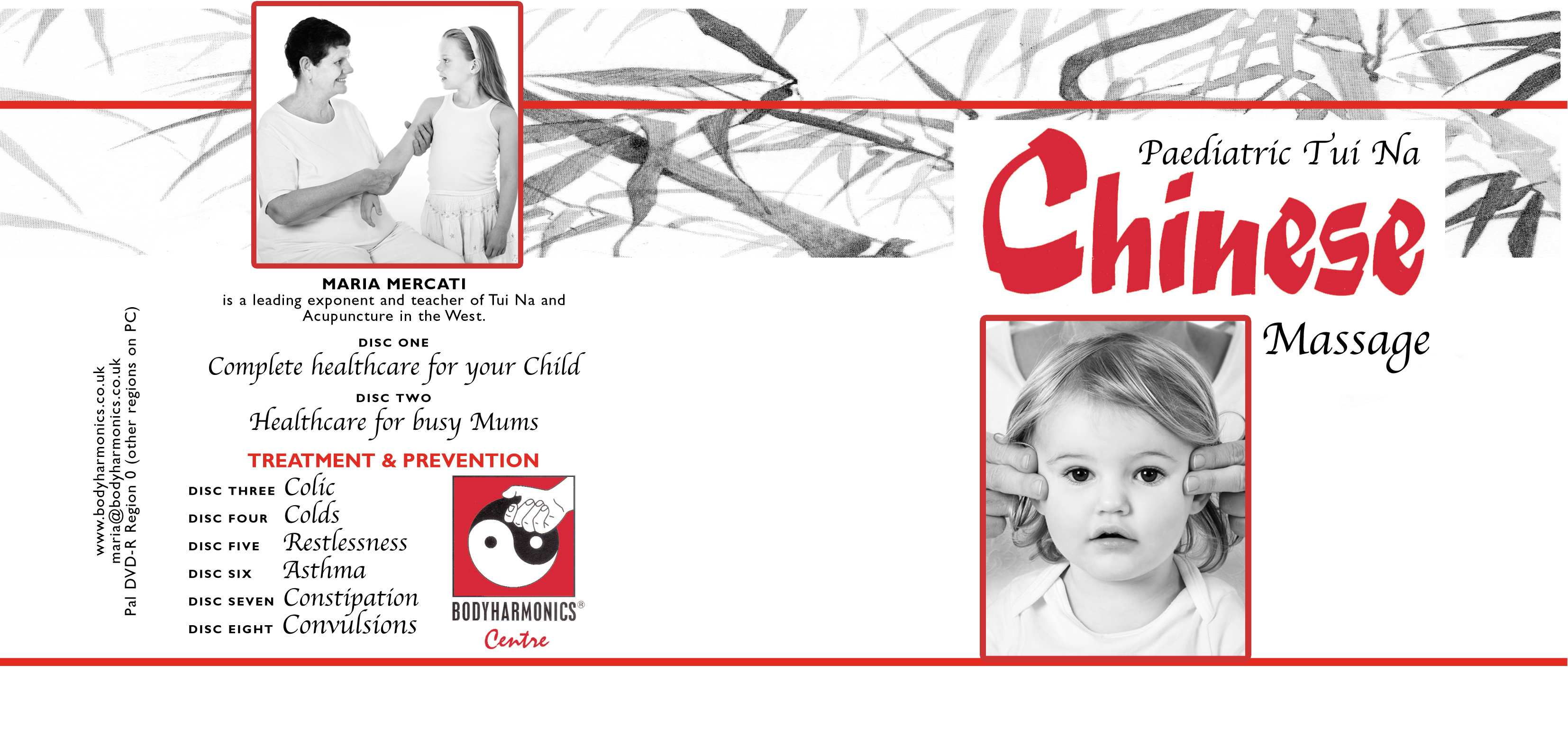 Tui Na Chinese Massage for children DVDS