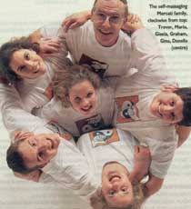 Essential Family Touch - by Jerome Burne. You Magazine. Ultimate Heath