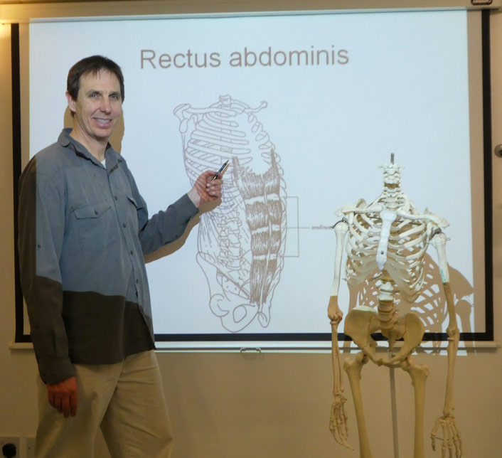 Craig Thorn teaching Anatomy & Physiology - A&P.