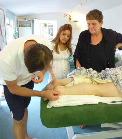 Acupuncture training
